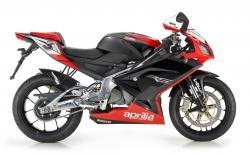 APRILIA 125 red