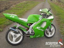 APRILIA 50 green