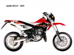 APRILIA MX 125 engine