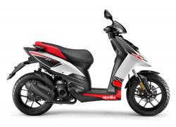 APRILIA SR MOTARD 125 red