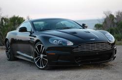 ASTON MARTIN DBS BLACK blue