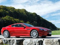 ASTON MARTIN DBS red