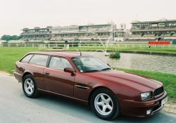 ASTON MARTIN VIRAGE SHOOTING BRAKE red