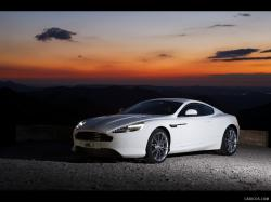 ASTON MARTIN VIRAGE white