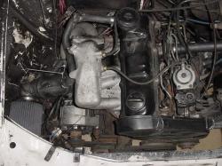 AUDI 80 1.6 TD engine