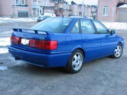 AUDI 90 blue