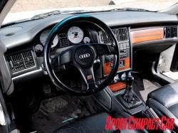 AUDI 90 interior