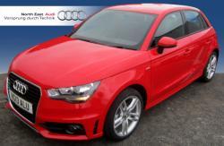 AUDI A1 1.2 red