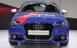 AUDI A1 blue