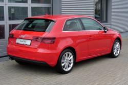 AUDI A3 1.4 red