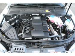 AUDI A4 engine