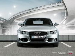 AUDI A4 silver