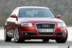 AUDI A6 red