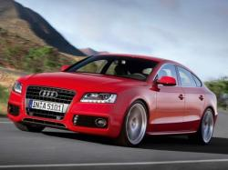 AUDI A8 red