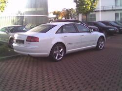 AUDI A8 white