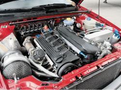 AUDI QUATTRO engine