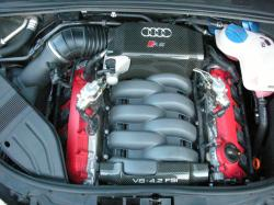 AUDI RS4 engine