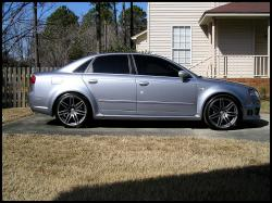 AUDI RS4 silver