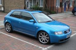 AUDI S3 blue