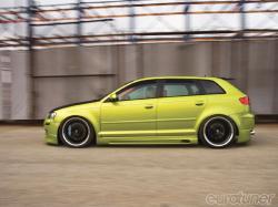 AUDI S3 green