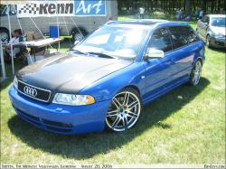 AUDI S4 blue