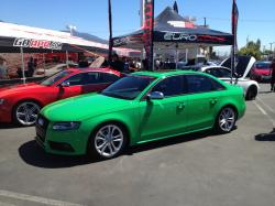 AUDI S4 green