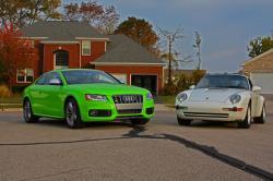 AUDI S5 green