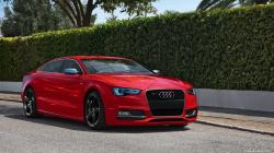 AUDI S5 red