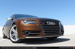 AUDI S8 brown