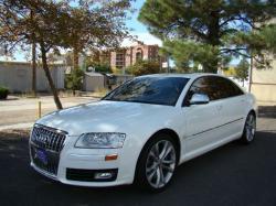 AUDI S8 white