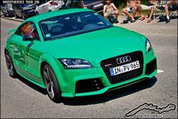 AUDI TT green
