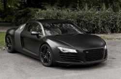 AUDI V8 black