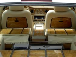 BENTLEY ARNAGE interior
