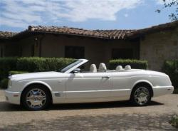 BENTLEY AZURE CONVERTIBLE interior