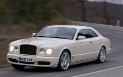 BENTLEY BROOKLANDS COUPE silver