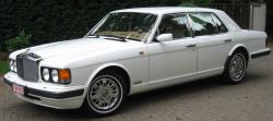 BENTLEY BROOKLANDS white