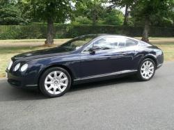 BENTLEY CONTINENTAL 6.0 blue