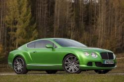 BENTLEY CONTINENTAL 6.0 green