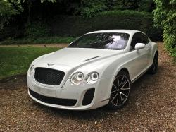 BENTLEY CONTINENTAL 6.0 white