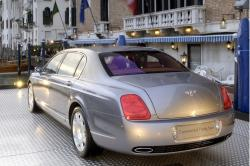 BENTLEY CONTINENTAL FLYING SPUR green