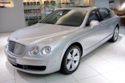 BENTLEY CONTINENTAL FLYING SPUR silver