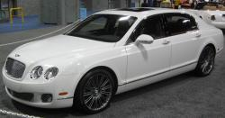 BENTLEY CONTINENTAL FLYING SPUR white