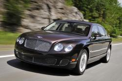 bentley continental flying