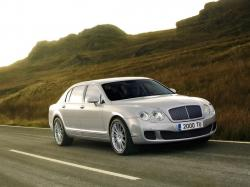 BENTLEY CONTINENTAL FLYING silver
