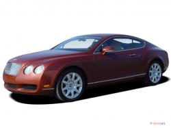 BENTLEY CONTINENTAL GT COUPE green