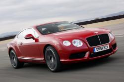BENTLEY CONTINENTAL GT COUPE red