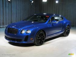 BENTLEY CONTINENTAL GT blue