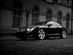BENTLEY CONTINENTAL black
