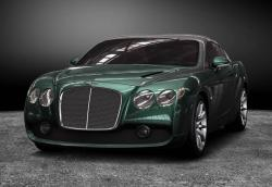 BENTLEY CONTINENTAL green