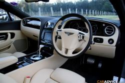 BENTLEY CONTINENTAL interior